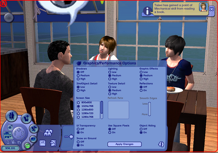 Solved - Flickering in Sims 2 Ultimate (Win 10) - LeeFish